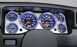 C-687SE Cobalt (black housing) Electric Speedometer
