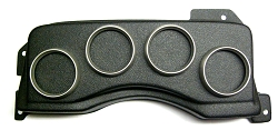 4 gauge LL 87-93 Mustang Cluster housing