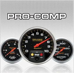 C-687SE Pro-Comp / Sport-Comp (black housing) Mechanical Speedometer