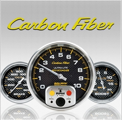 C-679SE Carbon Fiber (black full panel housing / black face-plate) Electric Speedometer