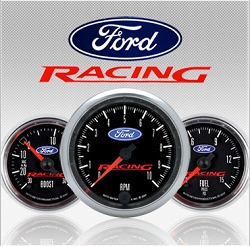 C-679SE Ford Racing (black full panel housing / black face-plate) Electric Speedometer