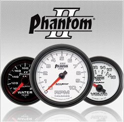 C-679SE Phantom II (black full panel housing / black face-plate) Electric Speedometer