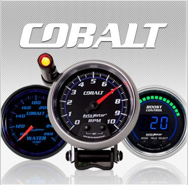 C-679SE Cobalt (black full panel housing / black face-plate) Electric Speedometer