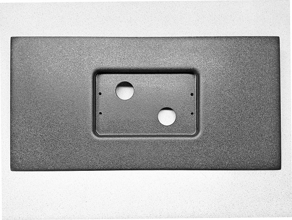 Holley 7.5 Flat Mounting Panel (with pocket)
