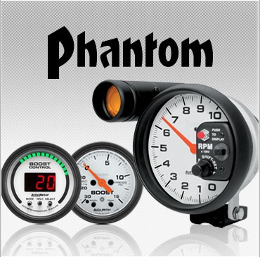C-679SE Phantom (black full panel housing / black face-plate) Electric Speedometer