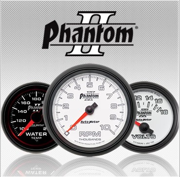 C-694SE Phantom II (black housing) Electric Speedometer